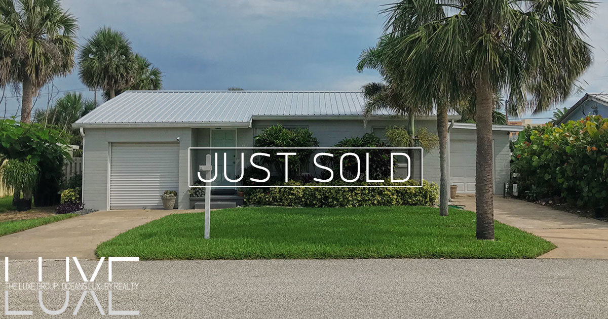 117 Dottie Ave Daytona Beach Shores Sold | Homes for Sale | The LUXE Group 386-299-4043