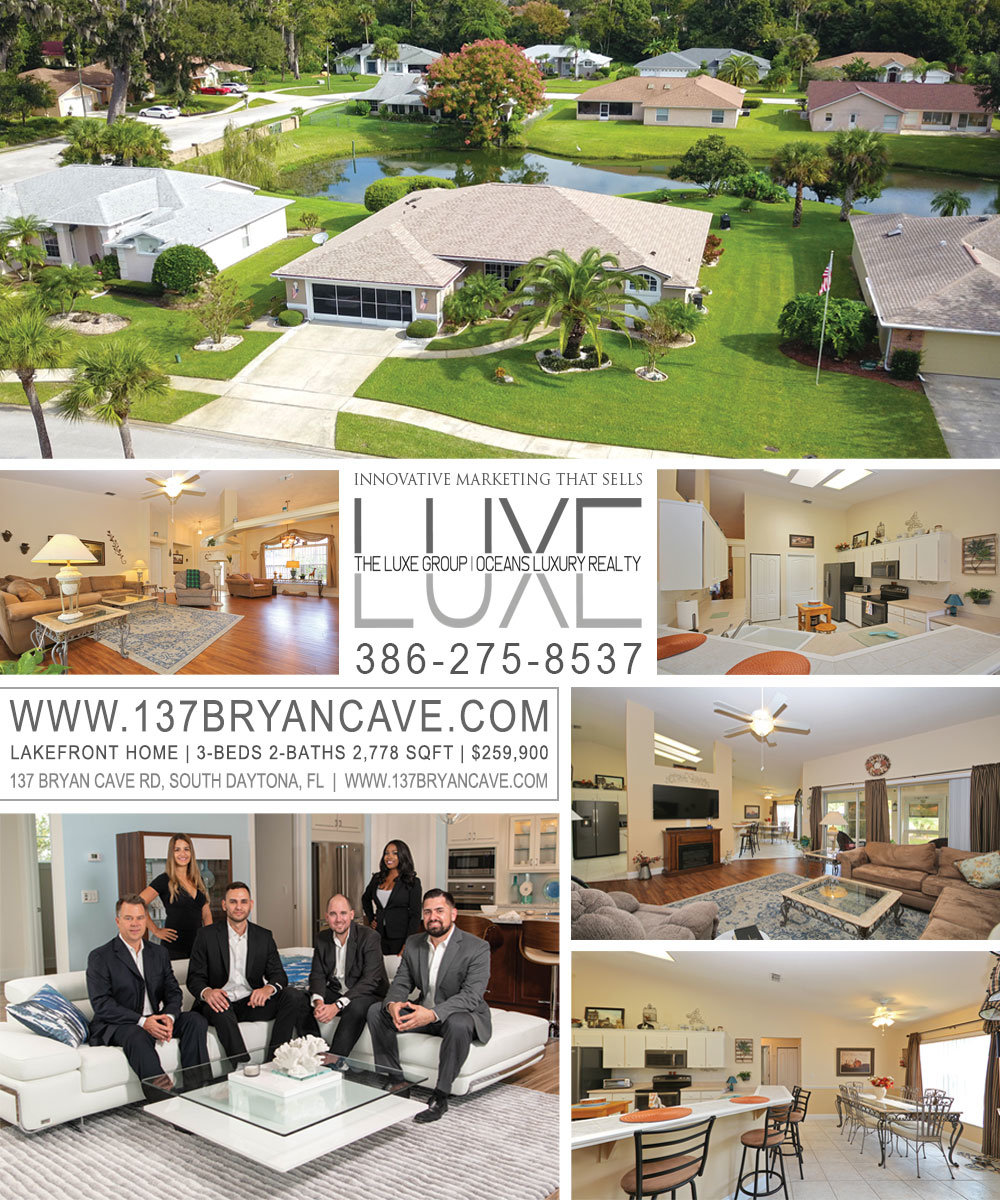 Lake homes for sale in Daytona Beach | Bryan Cave Estates