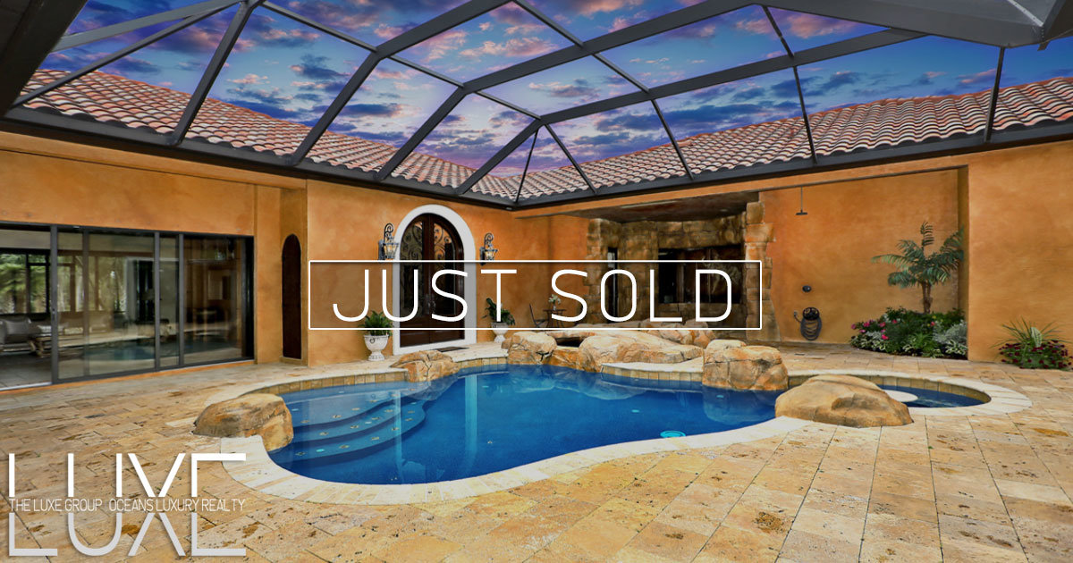 224 Vista Della Toscana Ormond Beach Pool Lakefront Homes Call The LUXE Group 386-299-4043