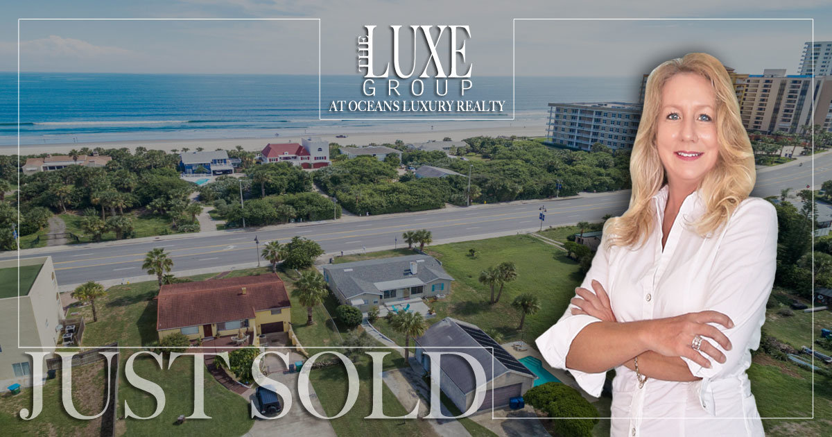 Daytona Beach Shores ocean view homes for sale | The LUXE Group 386-299-4043