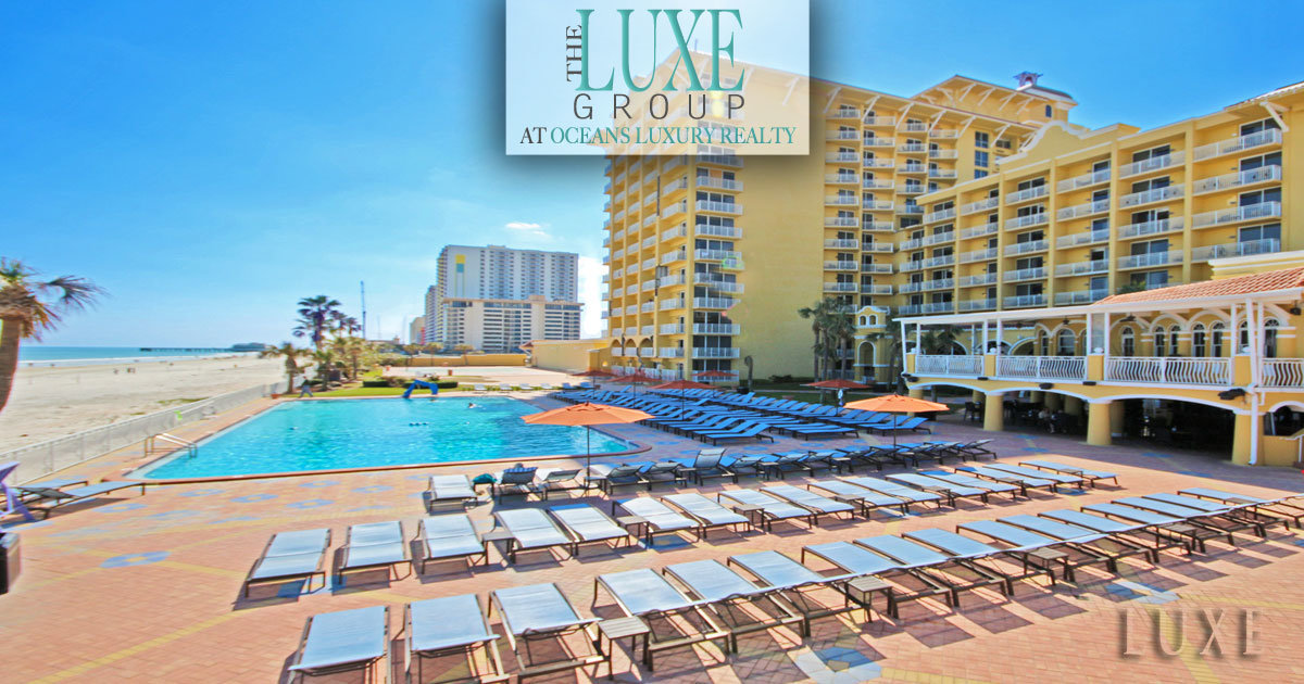 Just Sold Plaza Resort & Spa Condos 600 N Atlantic Daytona Beach The LUXE Group 386-299-4043
