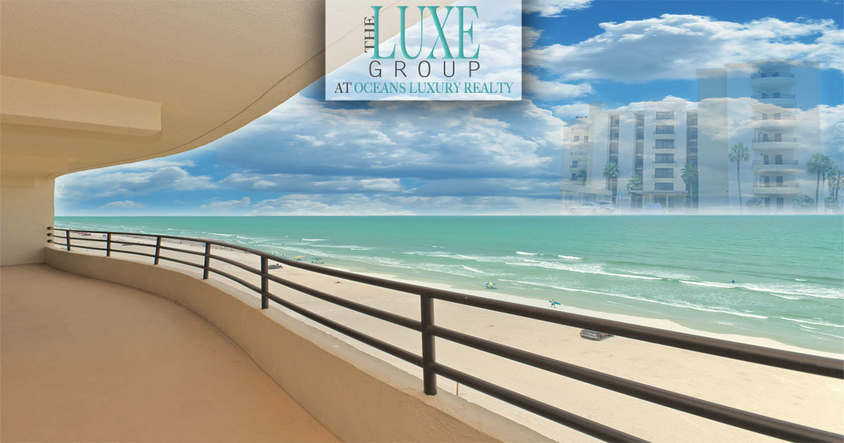La Mer Daytona Beach Shores Condo For Sale by The LUXE Group 386.299.4043