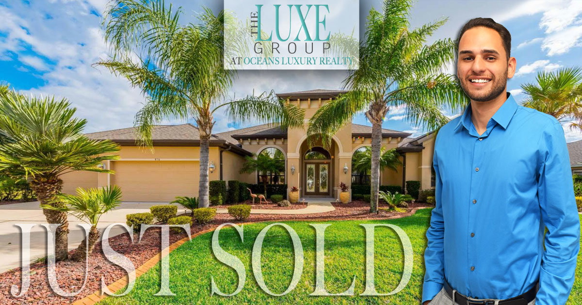 Plantation Bay Pool Home For Sale | Just Sold 976 Stone Lake | The LUXE Group 386-299-4043