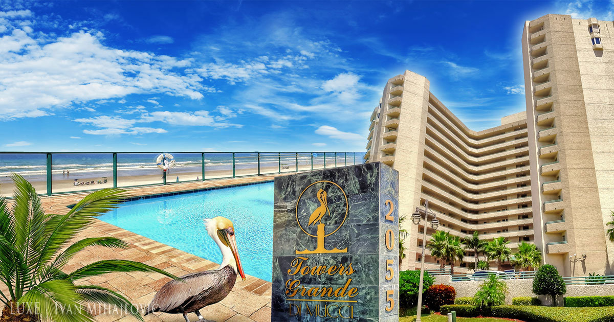 Towers Grande Condo 1001 Daytona Beach Shores The LUXE Group 386-299-4043