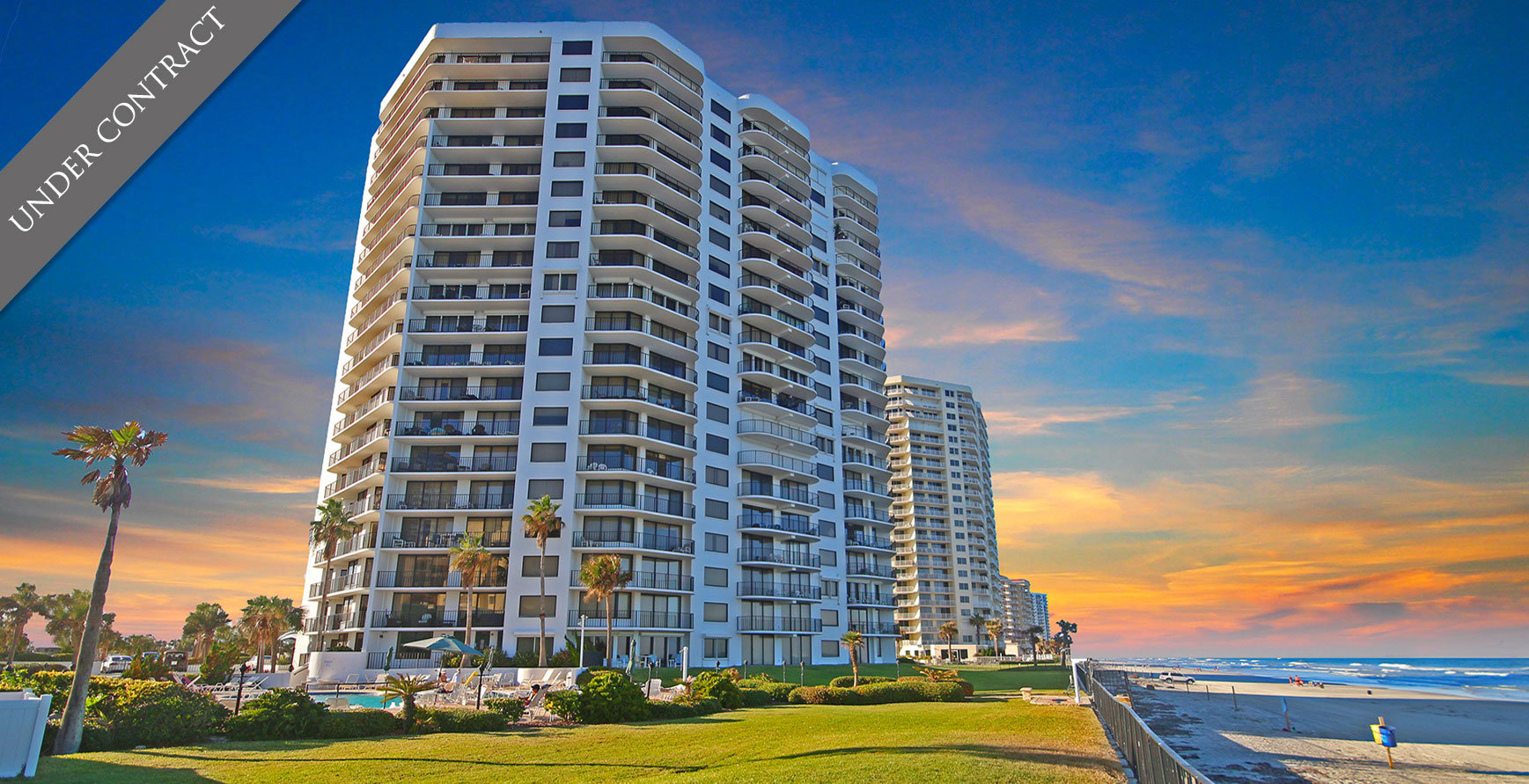 Sherwin oceanfront condos For Sale at 2555 S Atlantic Ave Daytona Beach  Shores The LUXE Group 386-299-4043