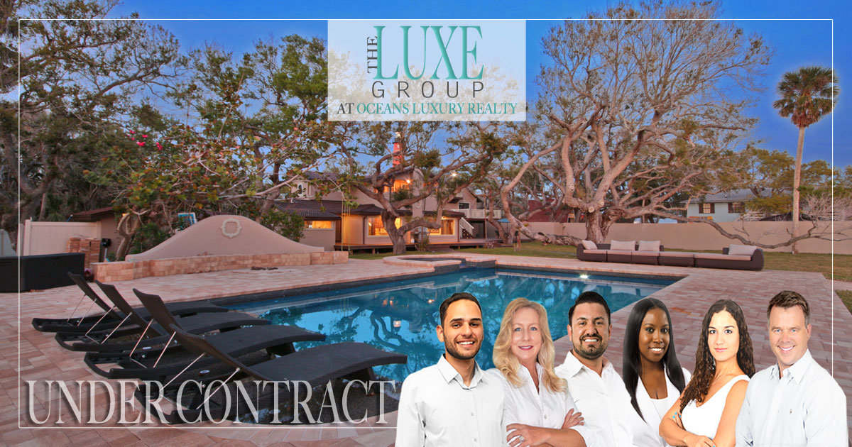 Under Contract | Ponce Inlet Riverfront Home 4932 South Peninisula -  The LUXE Group 386-299-4043