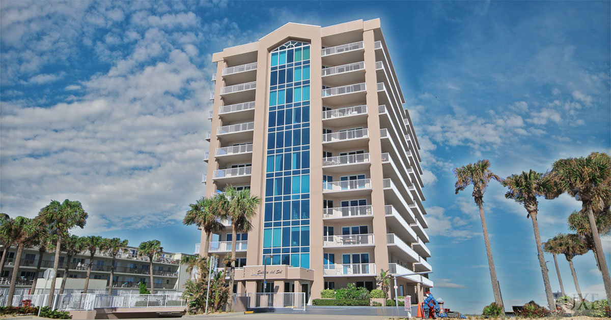 Salida del Sol Condos 3737 South Atlantic Daytona Beach Shores The LUXE Group 386-299-4043