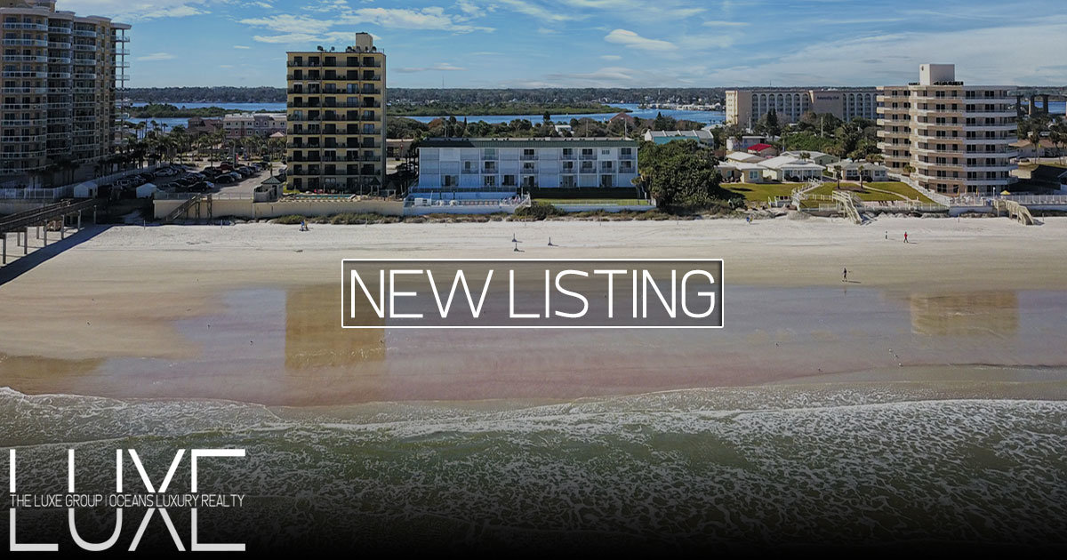 Curran Shores South Oceanfront Condo For Sale Daytona Beach Shores, FL | The LUXE Group 386-299-4043