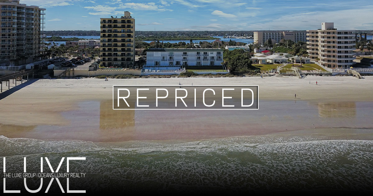 Curran Shores South Oceanfront Condo For Sale Daytona Beach Shores, Florida | The LUXE Group 386-299-4043