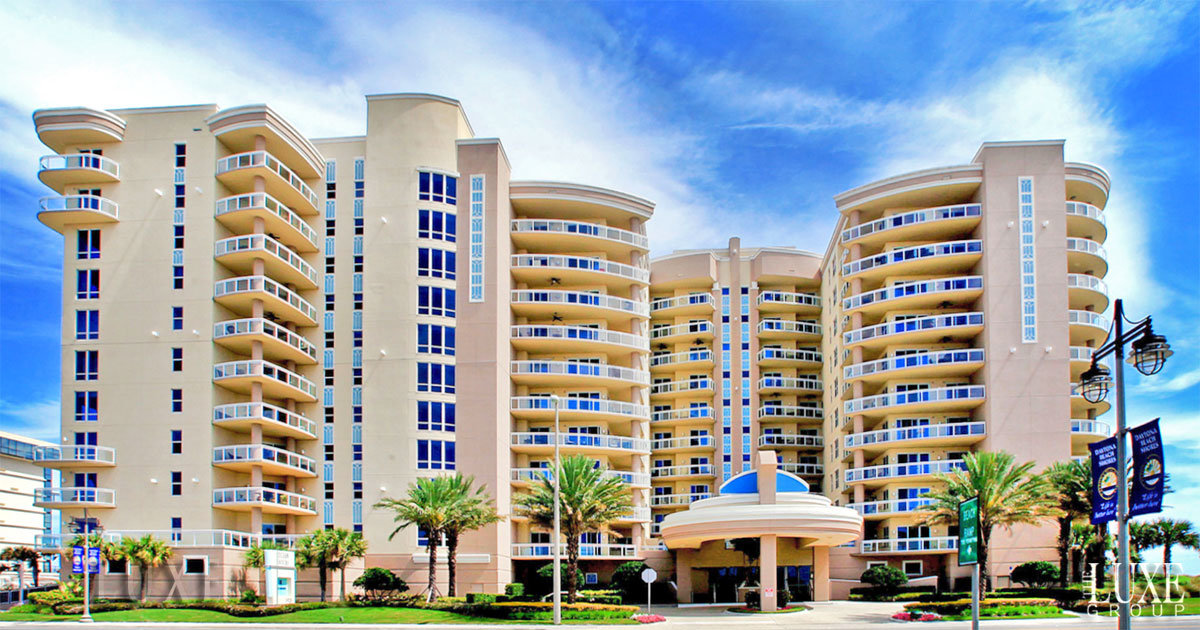 Ocean Vistas Condos For Sale 1925 South Atlantic Daytona Beach Shores - The LUXE Group 386.299.4043