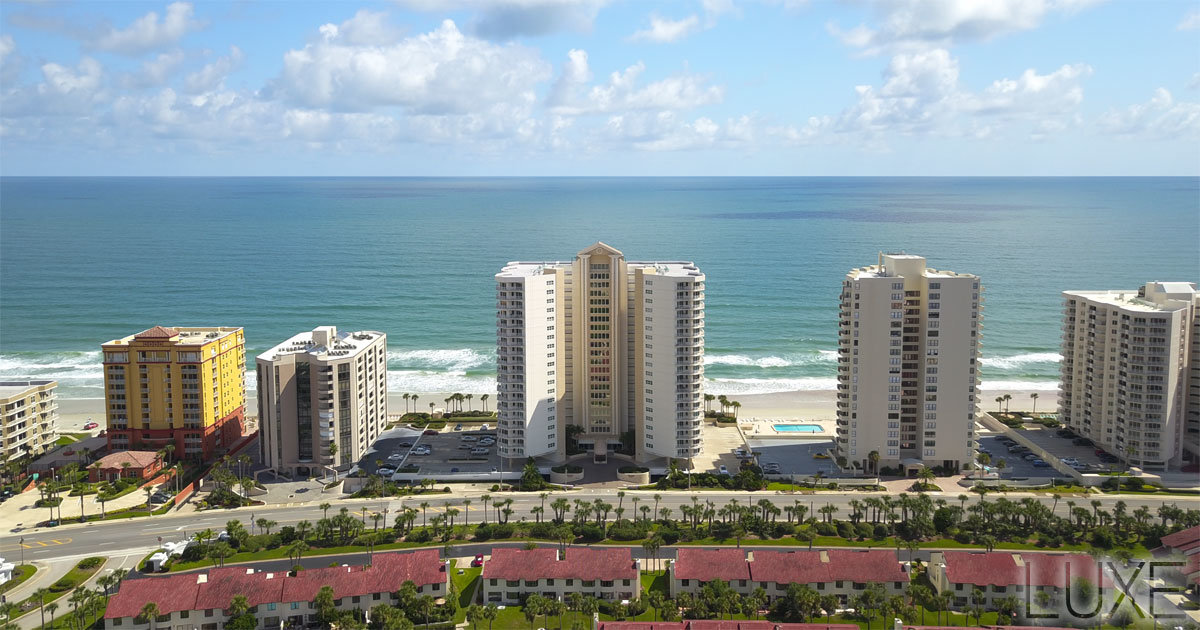 Oceans Eight Daytona Beach Shores Condos For Sale | 2937 S Atlantic | The LUXE Group 386-299-4043
