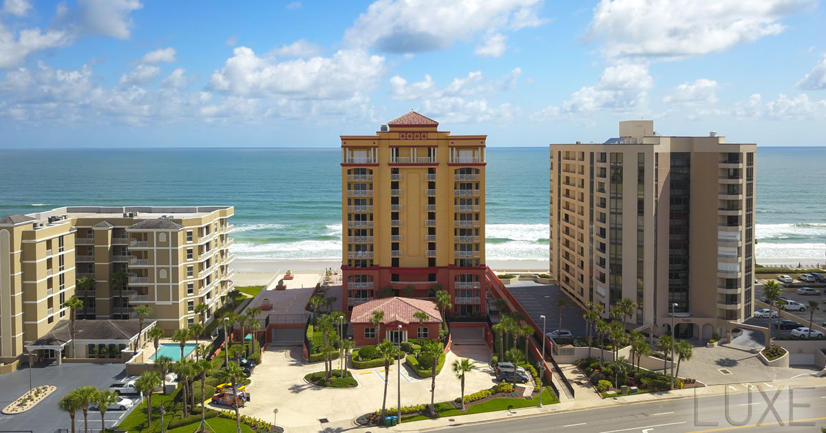 Tuscany Shores Oceanfront Condos For Sale 2901 South Atlantic - Daytona Beach Shores - The LUXE Group 386.299.4043