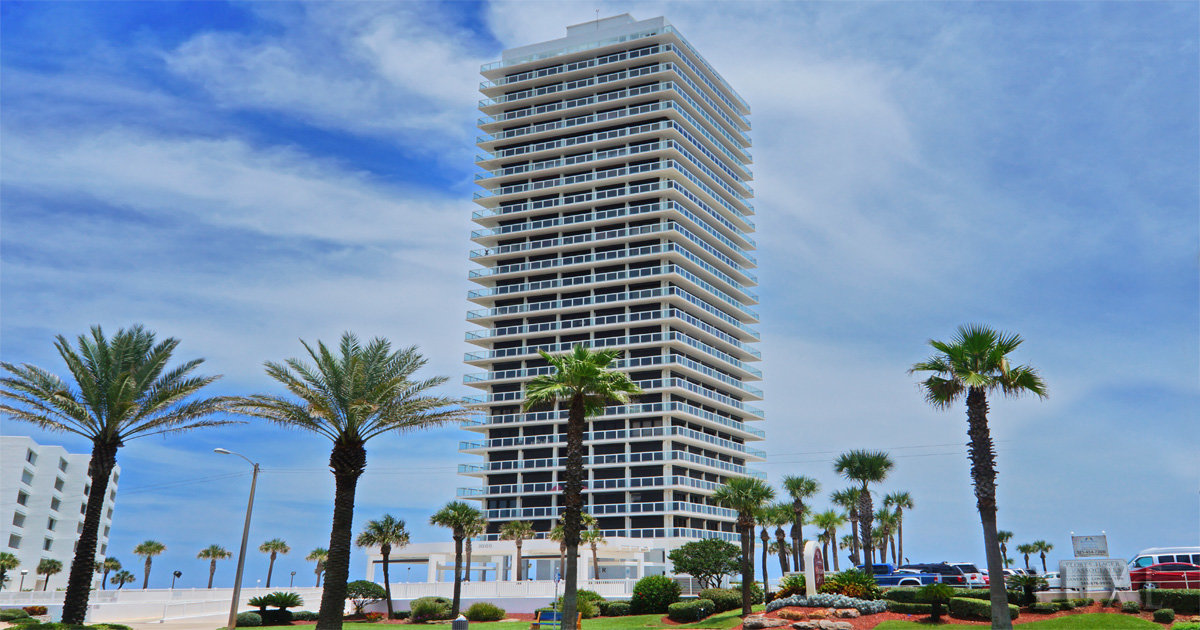 Aliki Tower Daytona Beach Condos For Sale - 3000 North Atlantic Ave - The LUXE Group 386.299.4043