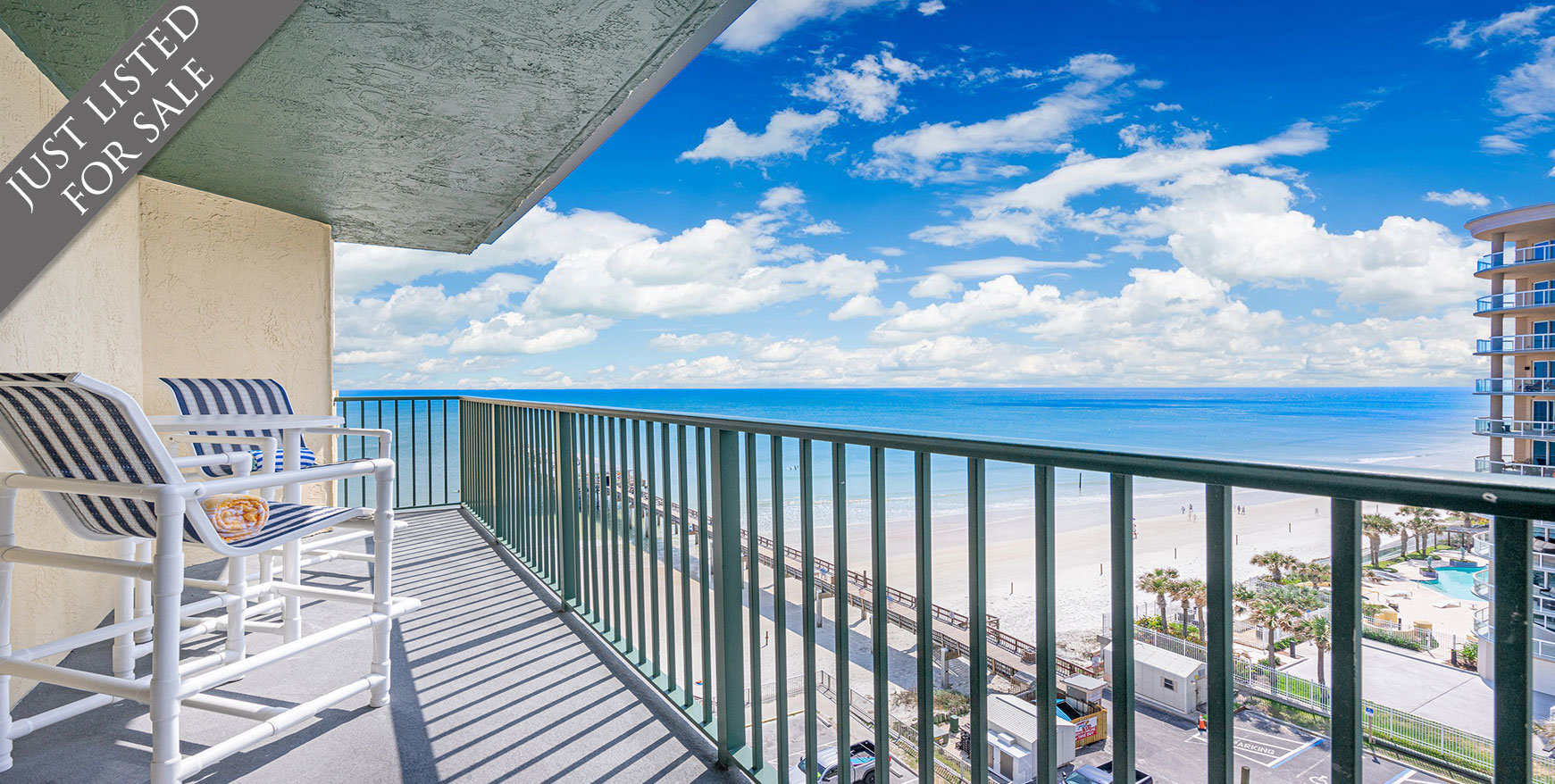 Sunglow Condos For Sale Oceanfront Real Estate at  3647 S Atlantic Ave Daytona Beach, FL