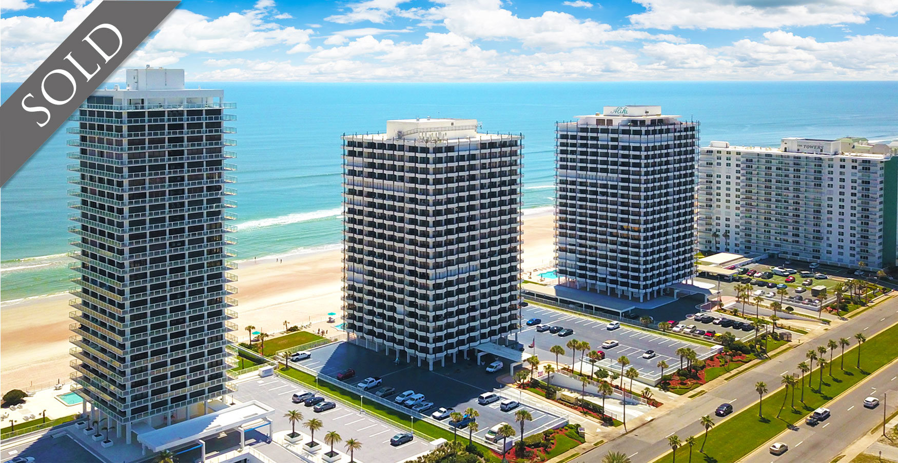 Ocean Ritz  Condos For Sale Oceanfront Real Estate at 2900 N Atlantic Ave Daytona Beach, FL  Just Sold