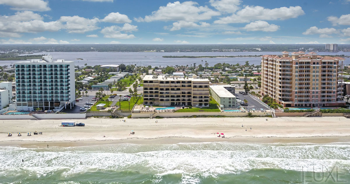 La Mer Oceanfront Condos For Sale | 3255 South Atlantic Daytona Beach Shores | The LUXE Group 386.299.4043