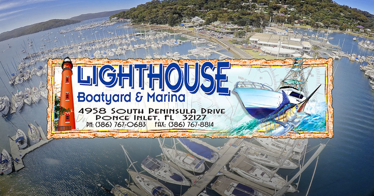Lighthouse Marina | 4958 S Peninsula Dr. Ponce Inlet, FL 32127| The LUXE Group 386-299-4043