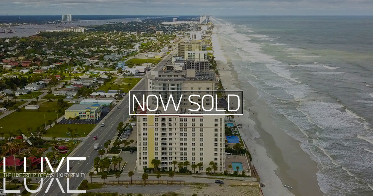 Opus Oceanfront Condo For Sale Daytona Beach Shores, FL | The LUXE Group 386-299-4043