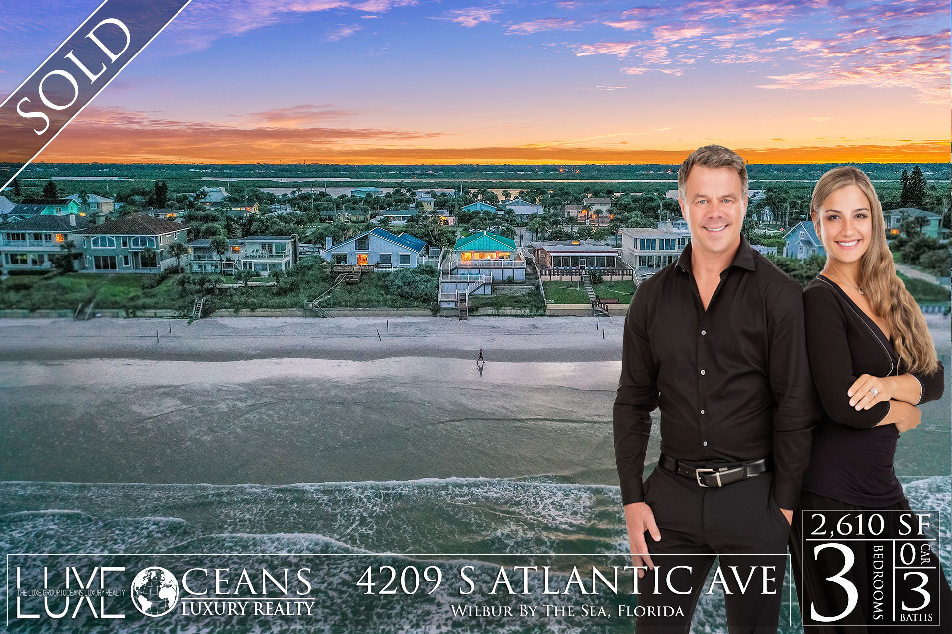 Ponce Inlet Oceanfront Homes For Sale- Under-Contract- 4209 S Atlantic Ave Waterfront Homes For Sale