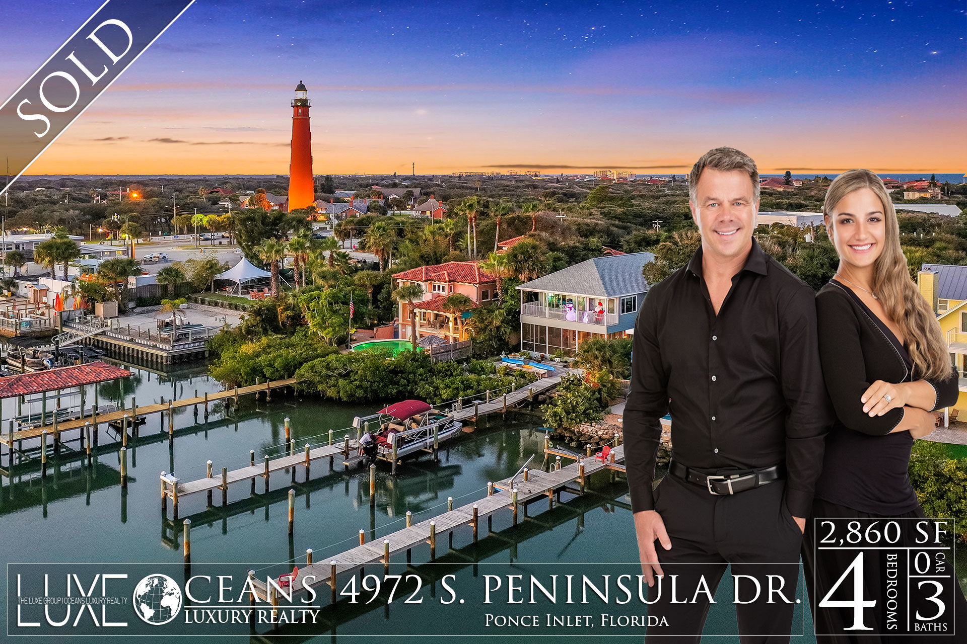 Ponce Inlet Riverfront Homes For Sale - 4972 S Peninsula Drive Waterfront Homes Sold