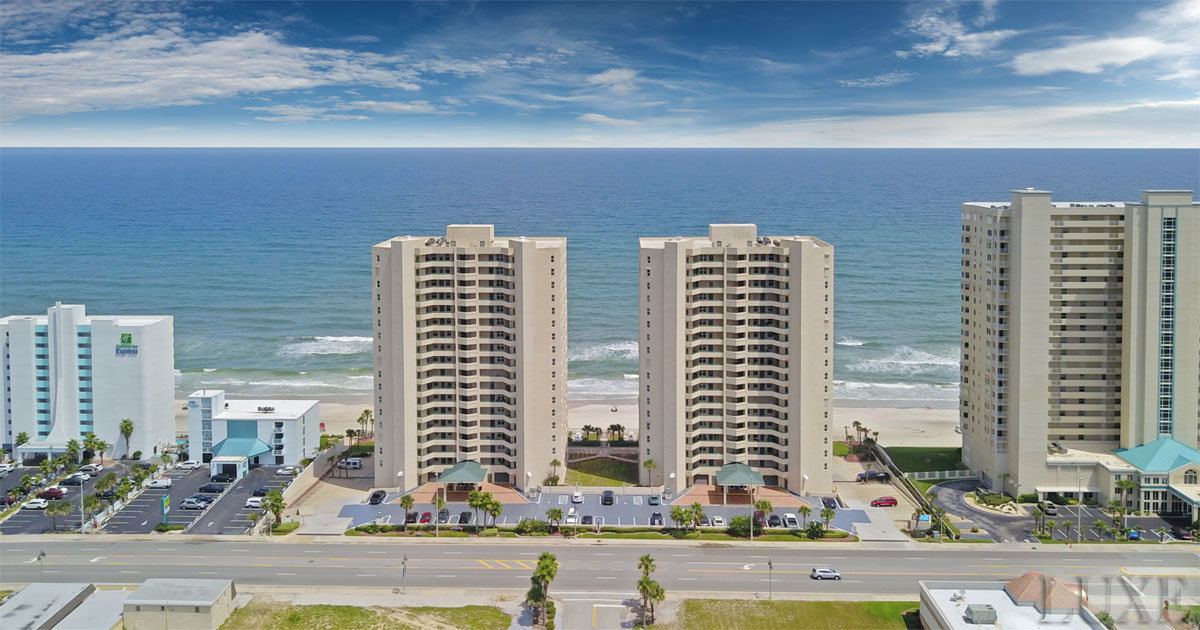 Twin Towers Condos For Sale in Daytona Beach Shores | The LUXE Group 386-299-4043