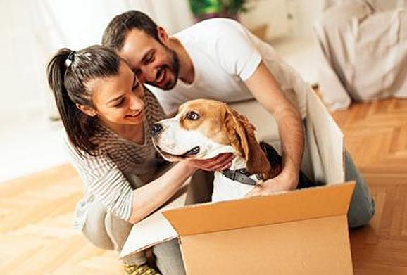 Moving into Your New Home with a Pet