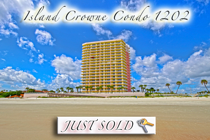 Island Crowne 1202 Daytona Beach Condo Just Sold