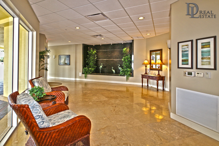 Island Crowne Condo 1202 Daytona Beach Condos For Sale. 1900 N Atlantic Ave. Under Contract. Grand Lobby