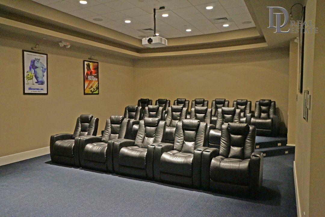 MG On The Halifax Penthouse Condo 2604 Movie Theater Room