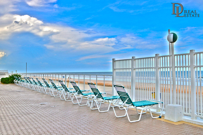 Ocean Ritz Daytona Beach Oceanfront Condo 402 Pool Deck