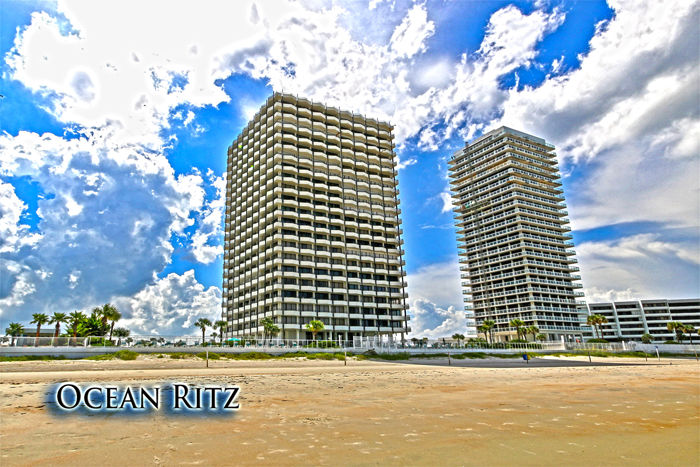 Ocean Ritz Condo Unit 306 Beach View. Daytona Beach Condos For Sale