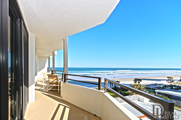Price reduced. Ocean Ritz condo for sale in Daytona Beach, Florida. Located at 2900 N Atlantic Ave. Unit 304.