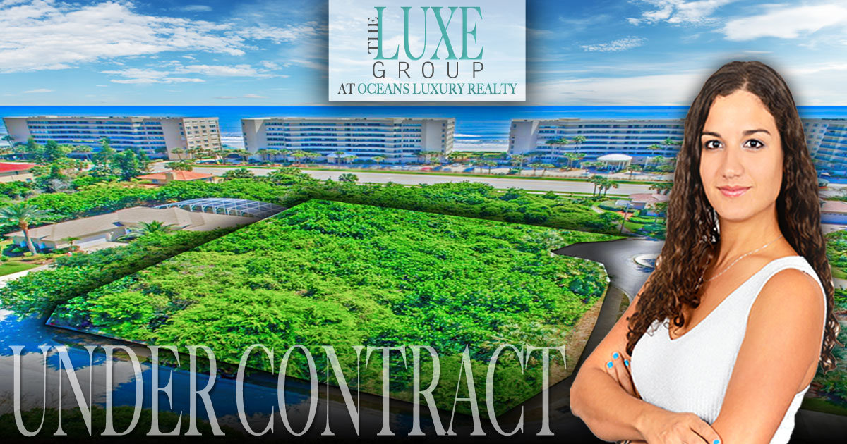 Ponce Inlet home lot for sale | 1 Daggett Circle | The LUXE Group 386-299-4043
